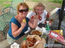 Crawfish, Jambalaya & Beer; Susan Kinney & Lynne Atkins